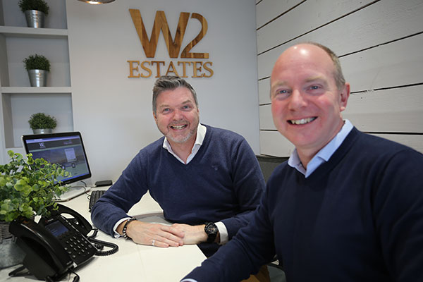 Paul and Wes from W Estate Agents